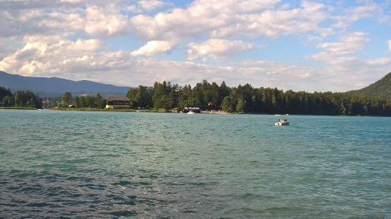 Faak am See, Austria: l'isola del lago