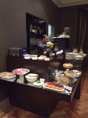 Lastarria Boutique Hotel: Complimentary Breakfast