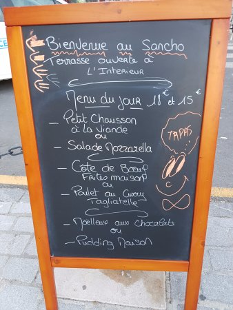 Pauillac, Francia: Spanish-south American dishes dominate