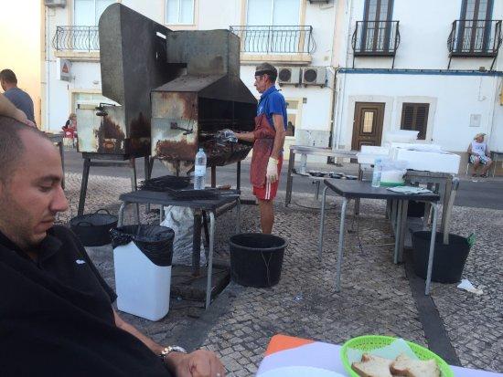 Fuzeta, Portugal: Fantastic people and food!