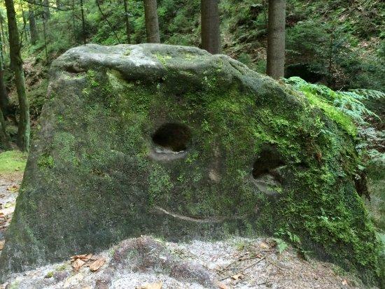 Rathen, Alemanha: der lustige Stein