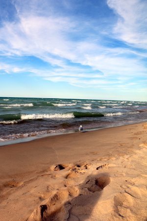 Chesterton, IN: Sand in between my toes