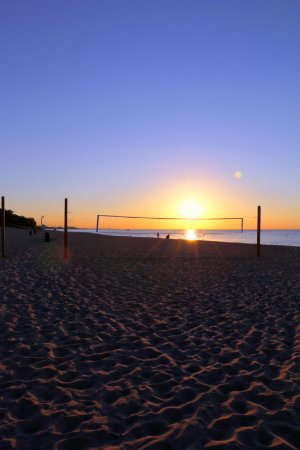 Chesterton, IN: Net for volleyball