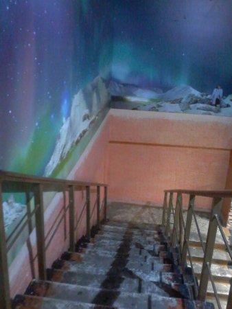 Gadzhiyevo, روسيا: лестница