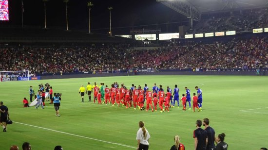 Carson, Californie : Leicester City v PSG