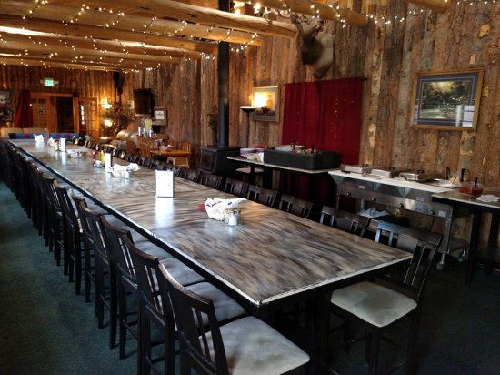 Centennial, Wyoming: Banquet Hall
