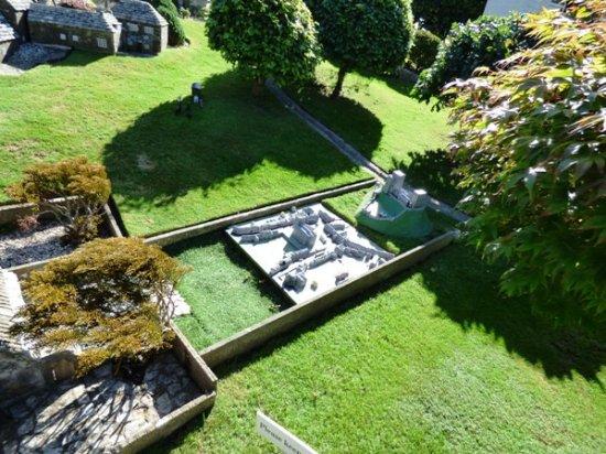 Corfe Castle, UK: The model village in the model village.