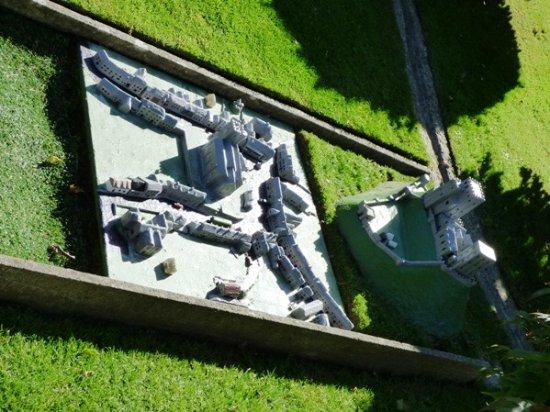 Corfe Castle, UK: Note: the model village in the model village in the model village.