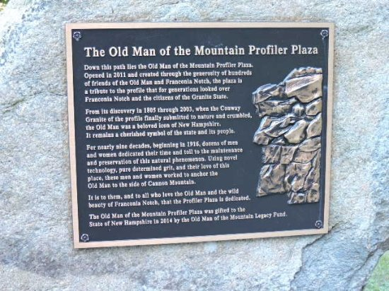 Foto de Old Man of the Mountain Historic Site