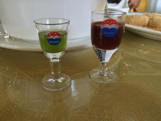 Vials of Liver (L) and Blood (R) alcohol - Picture of Dandong North