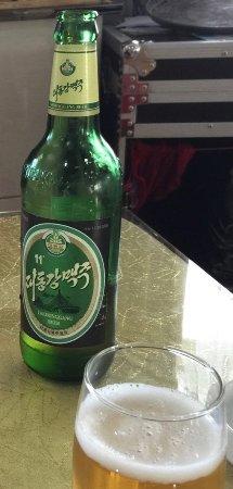 North Korean Beer - Picture of Dandong North Korean Restsurant