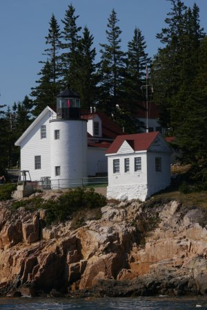 Bass Harbor Light from Island Cruise