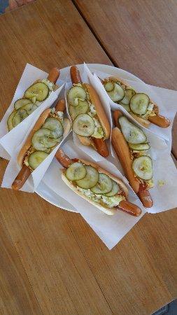 Albaek, Denmark: Hot Dogs
