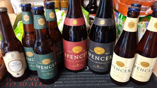Ploegsteert, Belgique : The new and very rare American Trappist beer, Spencer