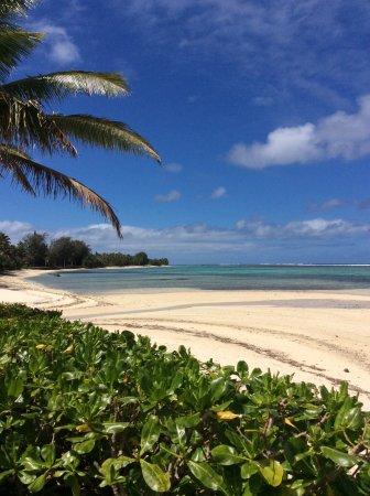 Sea Change Villas: Lagoon at low tide - great exploring!