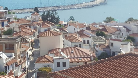 Thea Home Hotel : View from balcony