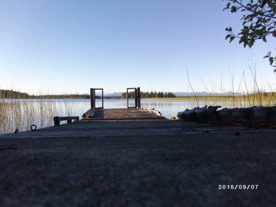 Nimpo Lake, Καναδάς: dock