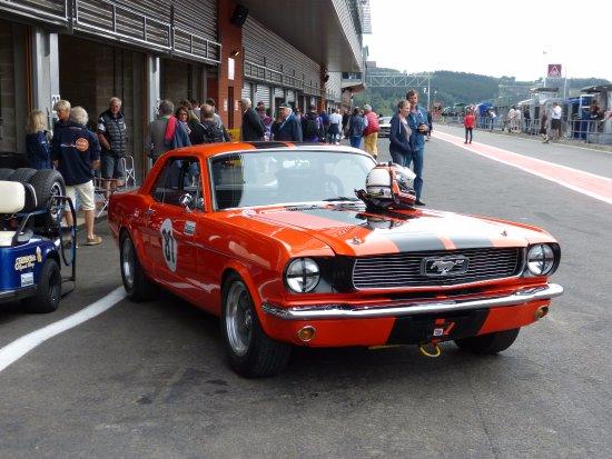 Circuit de Spa-Francorchamps : Vue des STAND...