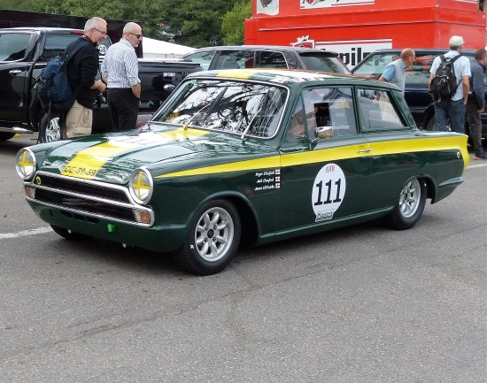 "Circuit de Spa Francorchamps : Ancêtre "" CORTINA LOTUS"""