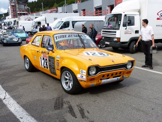 Circuit de Spa Francorchamps : Ford Escort.