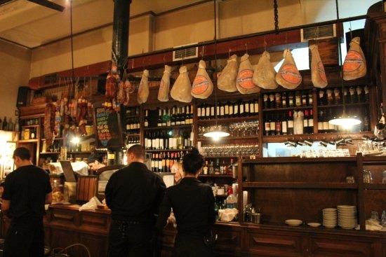 Café La Poesía: Bar Area
