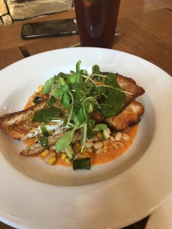 Wimberley, TX: Monkfish special