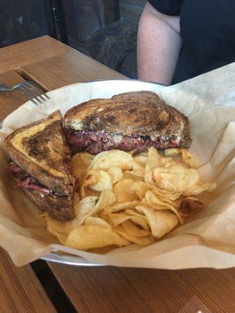 Wimberley, TX: Rueben Sandwich