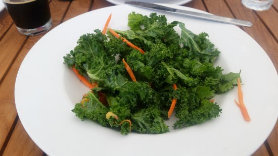 "Olema Farm House: ""Dino kale"" salad...not a pumpkin seed in sight"