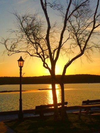 Shelburne, كندا: Proporcionou um belo por do sol