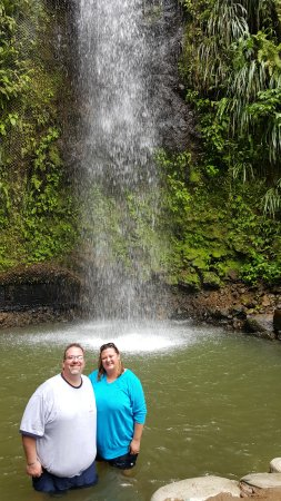 Gros Islet, St. Lucia: The waterfalls