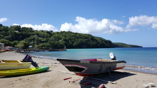 Gros Islet, Sta. Lucía: One of the fishing villages