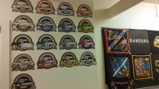Sturgis Motorcycle Museum & Hall of Fame: Sturgis Badges