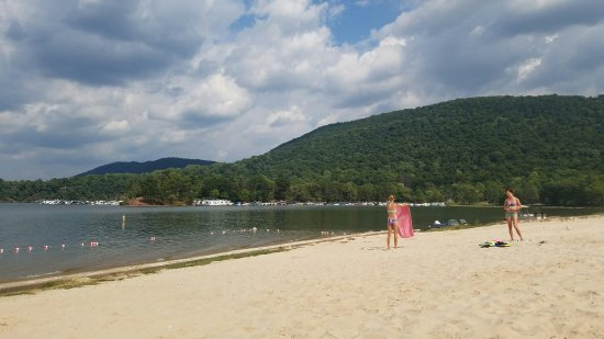 Aerial Photo Lake Raystown Resort An Rvc Outdoor