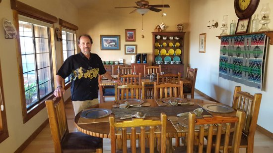 Grand Canyon Bed and Breakfast: Breakfast room