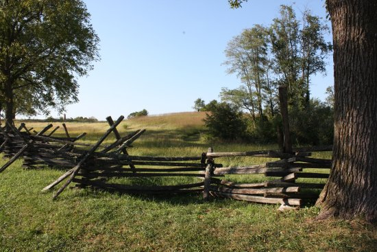 Sharpsburg, MD: Sunken Road from the Confederate fiew