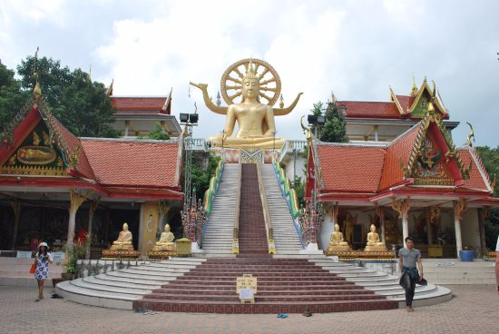 Bophut, Thailand: Big Buddha Temple (Wat Phra Yai)