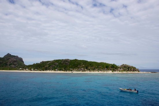 Kuata Island, Fidżi: pics of the island, room and the awesome shark snorkel done not far offshore