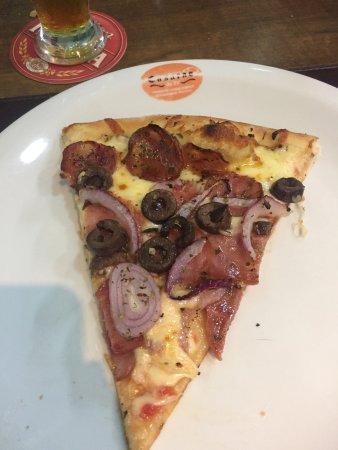 Ótima pizza