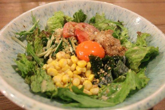 arigato japan food tours shibuya food tour ramen salad