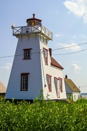 North Rustico Lighthouse: Interesting Little Lighthouse