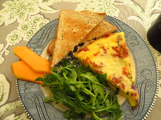 Bar Harbor Castlemaine Inn B&B: Frittata