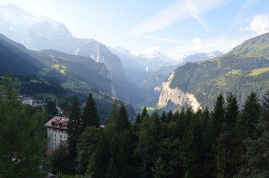 Alpenruhe Kulm Hotel: View from Hallway window