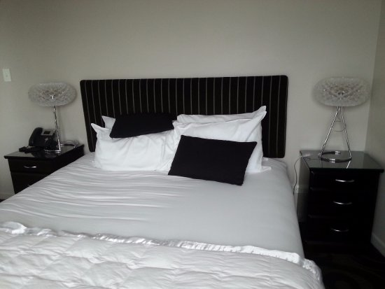 New Plymouth, Nueva Zelanda: The most comfortable bed
