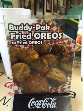 Marion, AR: Fried Oreos? Total decadence