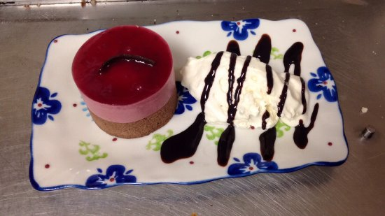 Granville Ferry, Canadá: Raspberry chocolate mousse