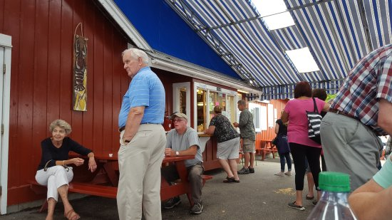 South Freeport, Мэн: Harraseeket Lunch and Lobster Company