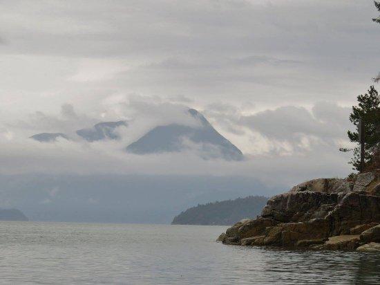 Πάουελ Ρίβερ, Καναδάς: A view from our campsite in Feather Cove! Awesome!!