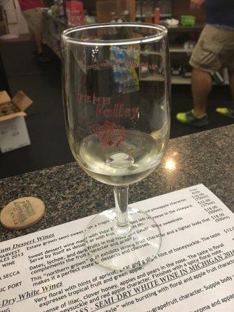 Fennville, MI: Tasty wine