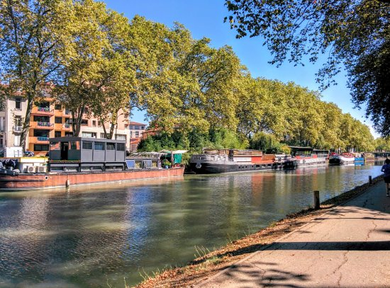 Ramonville Saint-Agne, Francia: Cycling the Canal du Midi