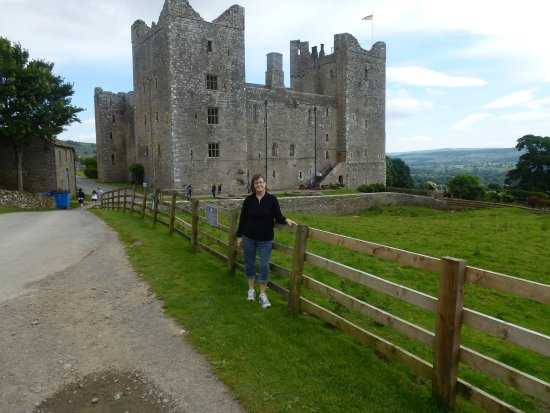 Leyburn, UK: outside Bolton Castle
